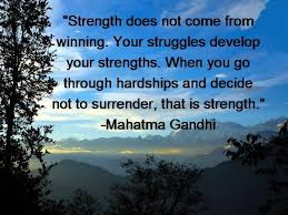 strength ghandi